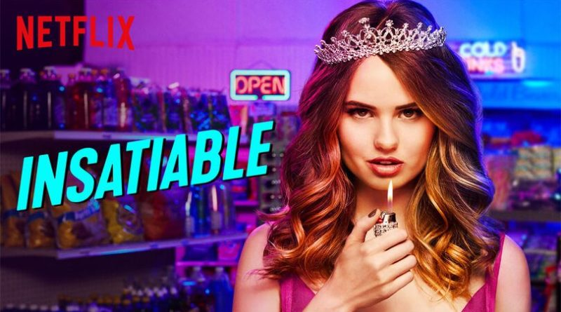 "Poster for the Netflix series ""Insatiable"""