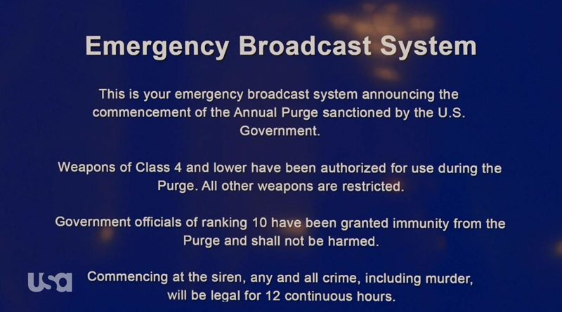 TV Review: The Purge – Episodes 1 and 2