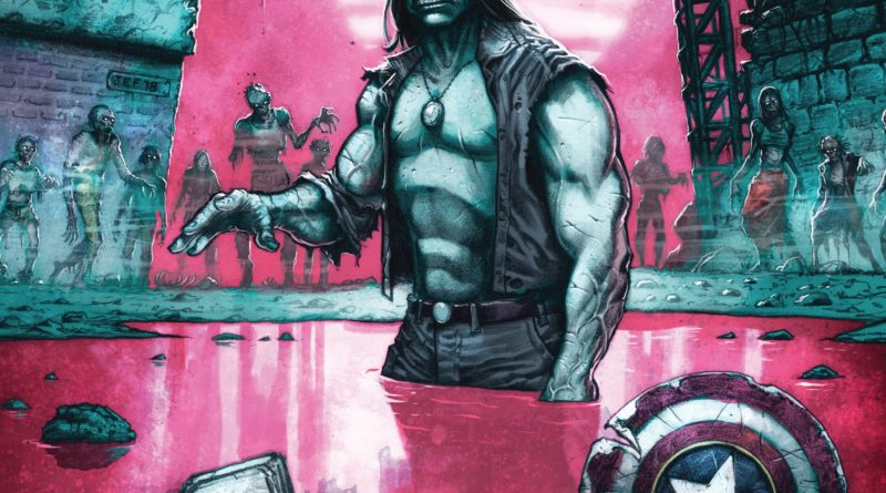 Marvel Zombie #1 cover
