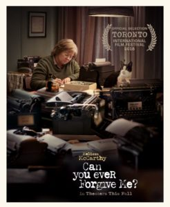 Poster for the film Can You Ever Forgive Me? (2018)