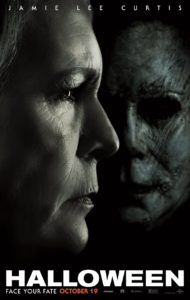 Poster for the film Halloween (2018)