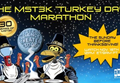 PSA! The MST3K 2018 Turkey Day Marathon is THIS SUNDAY!