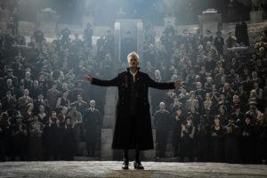 Still of Johnny Depp as Gellert Grindelwald in Fantastic Beasts: the Crimes of Grindelwald (2018)
