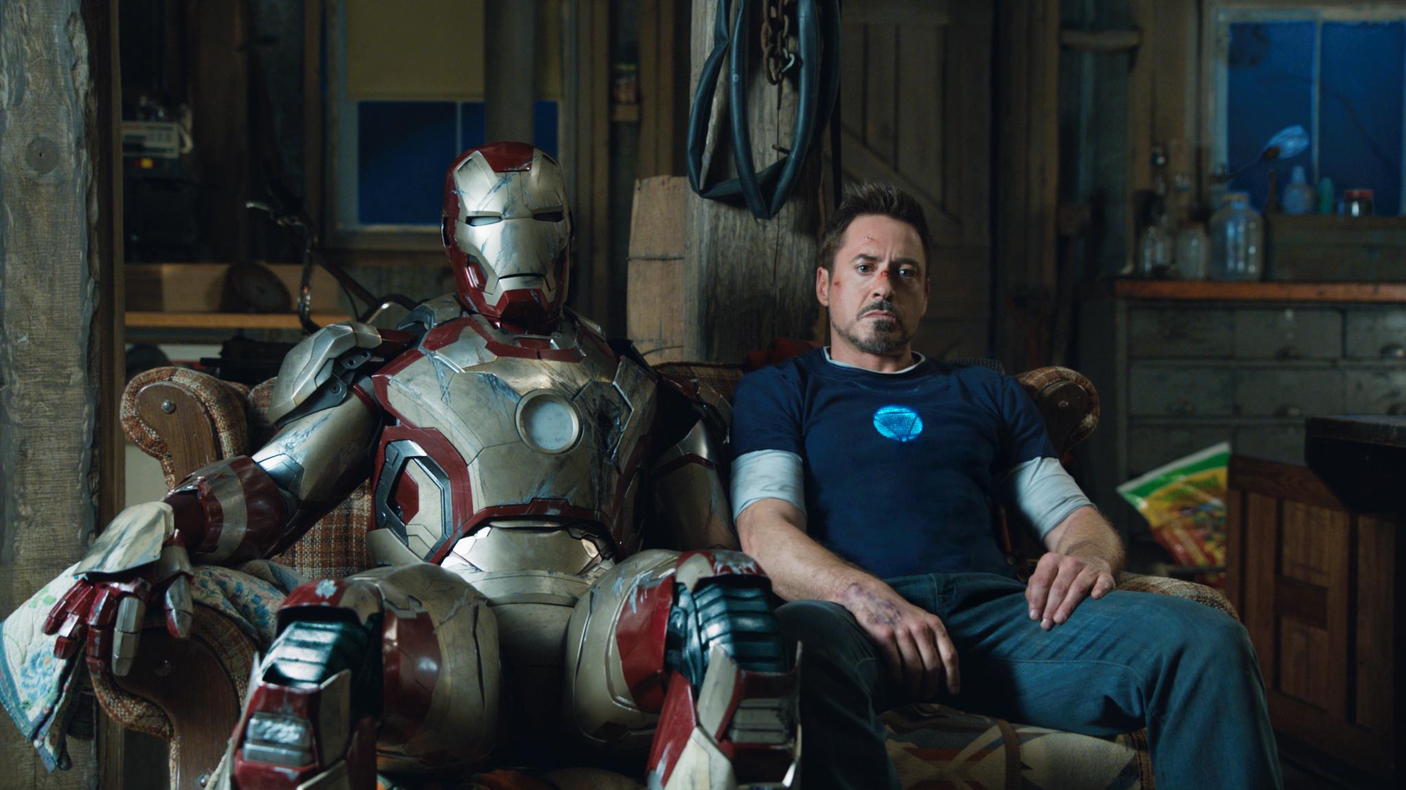 Still of Robert Downey Jr. as Tony Stark in Iron Man 3