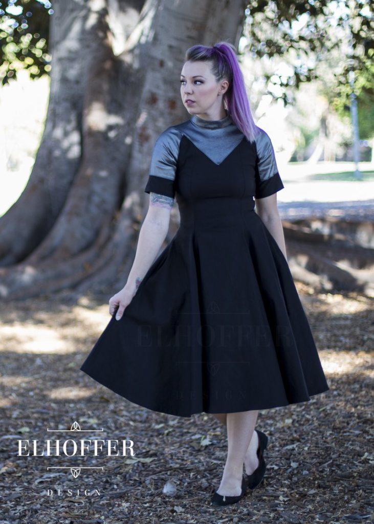 Queen of Ashes Dress from Elhoffer Design
