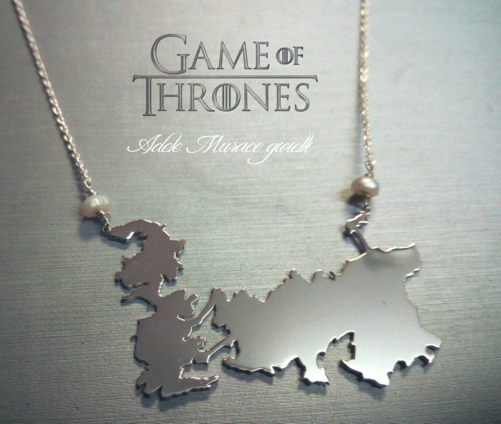 Westero Map Necklace By Adele Murace
