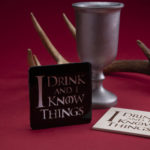 [CRAFTS] THESE 'GAME OF THRONES' COASTERS WILL MAKE YOUR HOME FEEL MORE LIKE KING'S LANDING