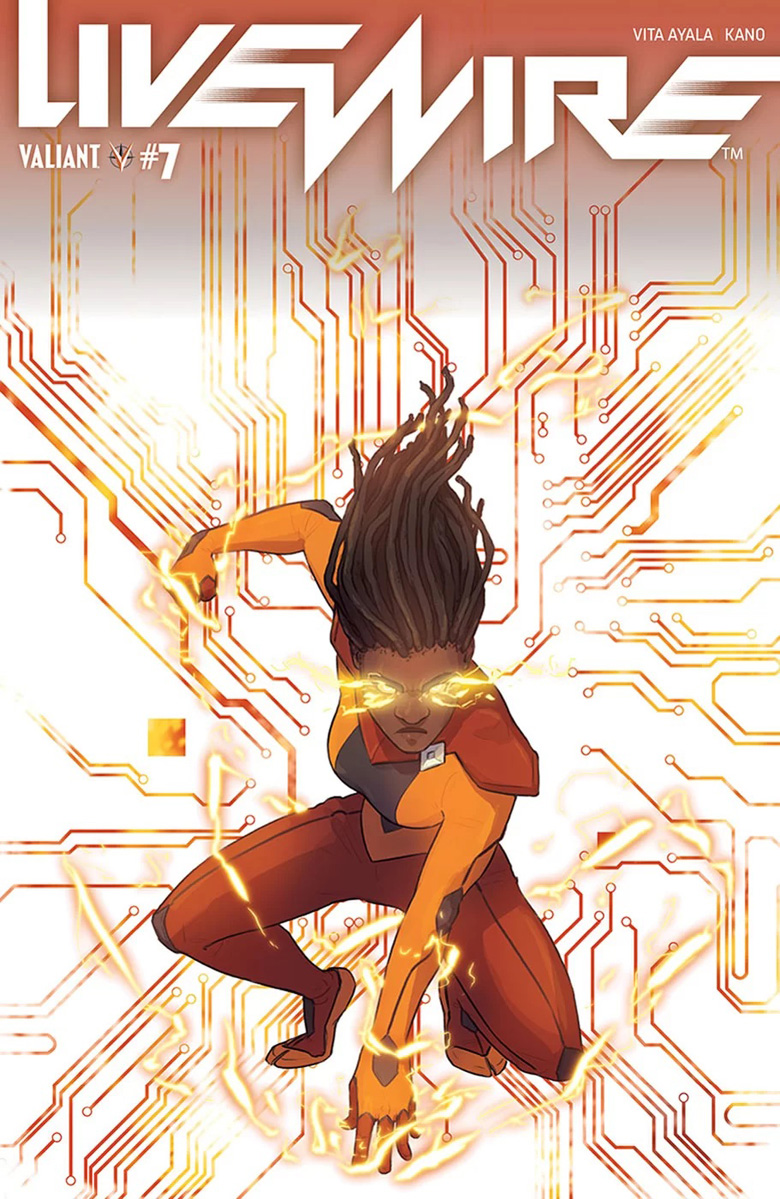 Livewire #7 Cover C
