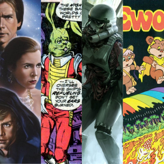 9 of the Weirdest Things in Star Wars Legends