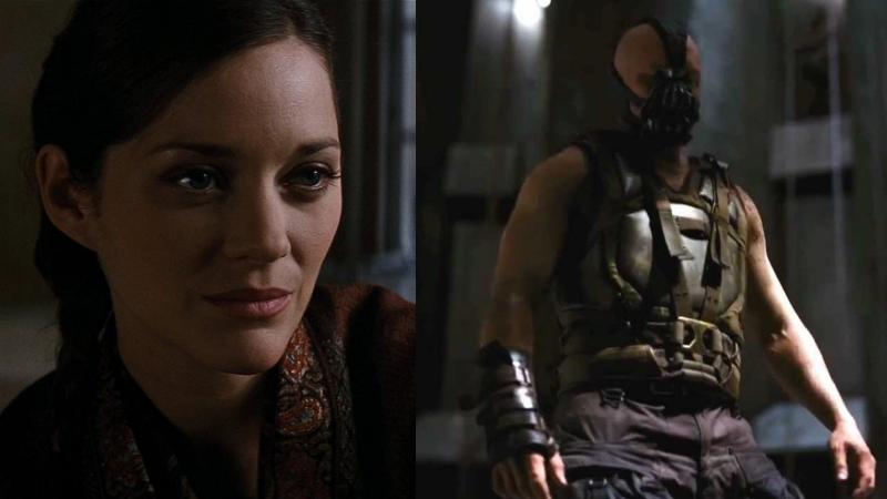 Talia al Ghul and Bane