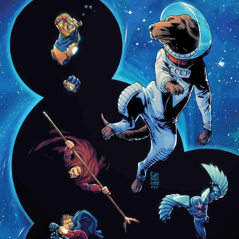 Guardians of the Galaxy Annual #1 Review