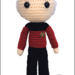 [CRAFTS] MINI-PICARD WILL KEEP YOU COMPANY UNTIL THE NEXT STAR TREK SHOW COMES OUT