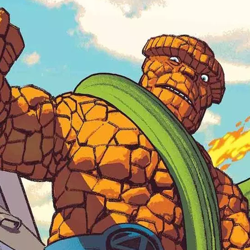 Fantastic Four: 4 Yancy Street #1