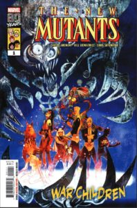 New Mutants: War Children Cover