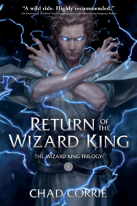 Return of the Wizard King Cover