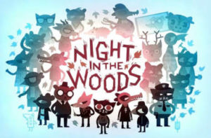 Night in the woods title image